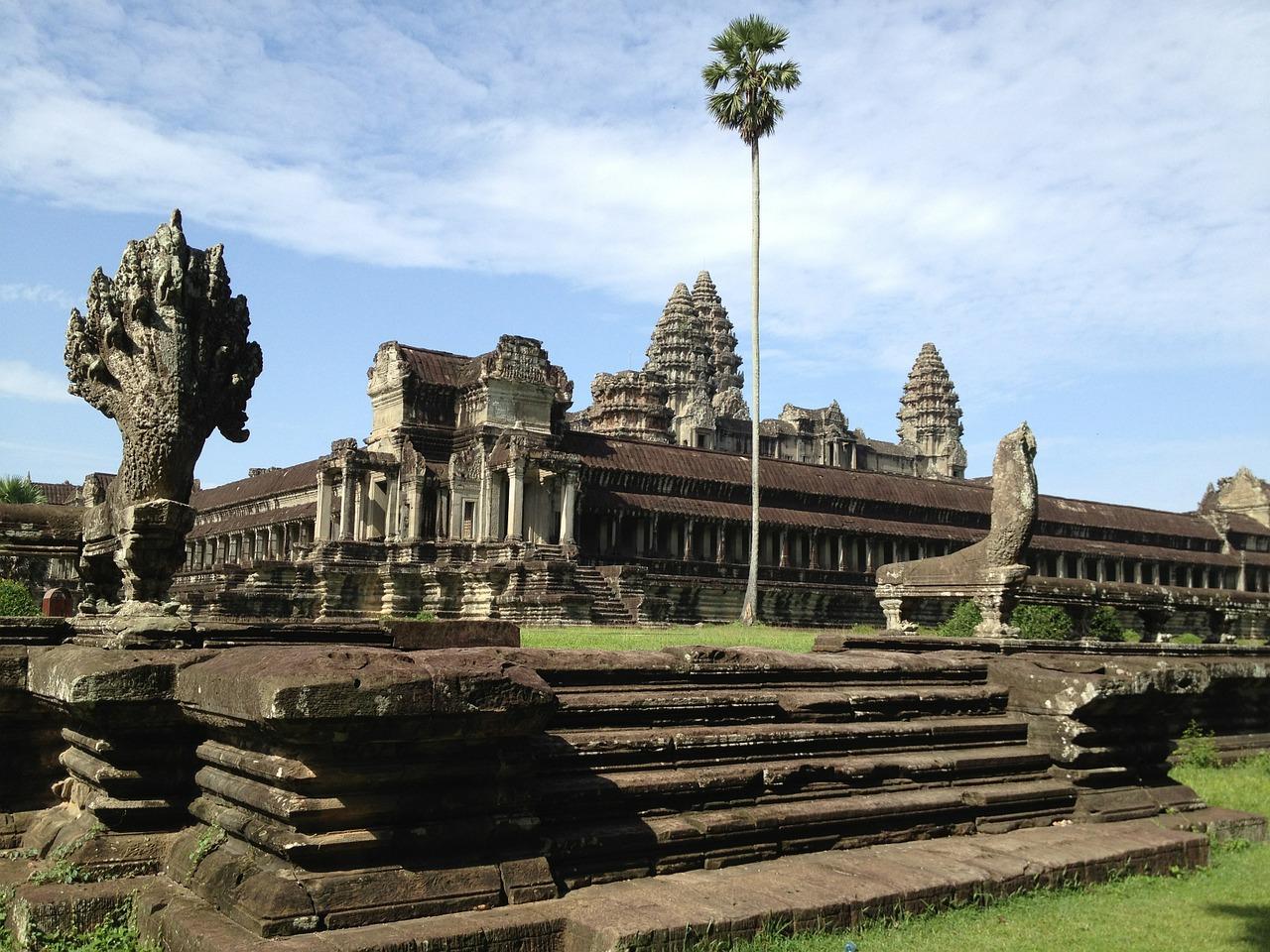 Angkor Vat, un emblème pour le Cambodge